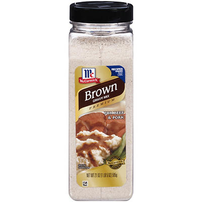 McCormick Premium Brown Gravy, 21 oz.