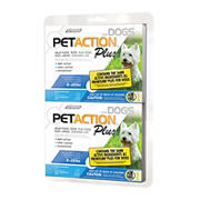 PetAction Plus Flea and Tick Control for Small Dogs, 2 pk.
