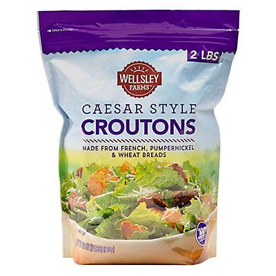 Wellsley Farms Caesar-Style Croutons, 2 lbs.