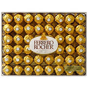 Ferrero Rocher Fine Hazelnut Chocolates, 48 ct.
