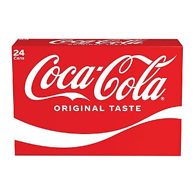Coca-Cola Cans, 24 pk./12 fl. oz. cans