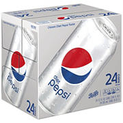 Diet Pepsi Soda, 24 pk./12 oz.