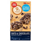 Fiber One Oats & Chocolate Chewy Bars, 36 ct.