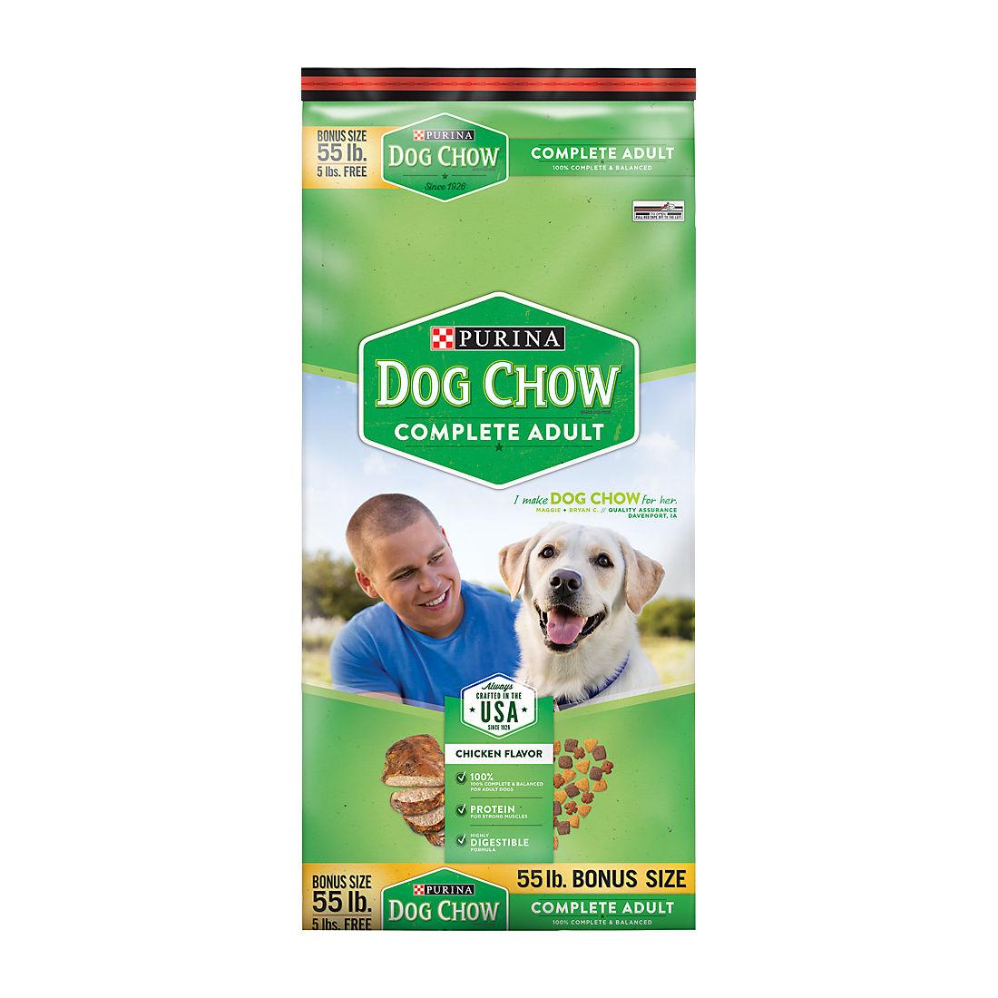 Purina Dog Chow Complete Food 55 Lbs