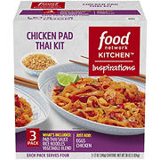 Food Network Chicken Pad Thai Dinner Kit, 3 pk./12 oz.