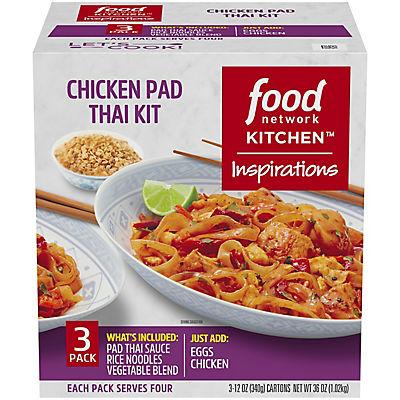Food Network Chicken Pad Thai Dinner Kit, 3 pk./12 oz.