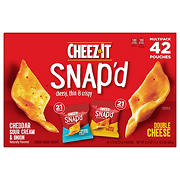Cheez It Snap'd Multipack, 42 ct.