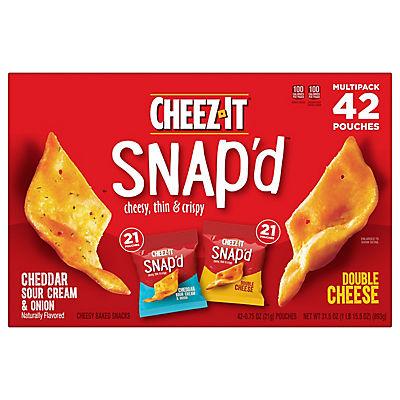Cheez It Snap'd Multipack, 42 pk./0.75 oz.