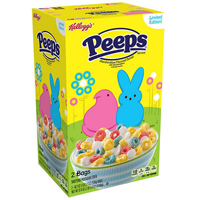 Kellogg's Peeps Cereal, 2 pk./18.7 oz.