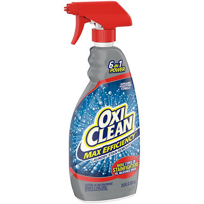 OxiClean Max Efficiency Laundry Stain Remover Spray, 2 pk./21.5 oz.