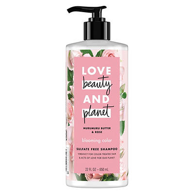 Love Beauty And Planet Murumuru Butter & Rose Blooming Color Shampoo,