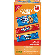 Nabisco Cookies Variety Pack, 30 pk.