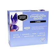 Berkley Jensen Large Nitrile Gloves, 400 ct.
