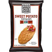 Food Should Taste Good Sweet Potato Tortilla Chips, 24 oz.