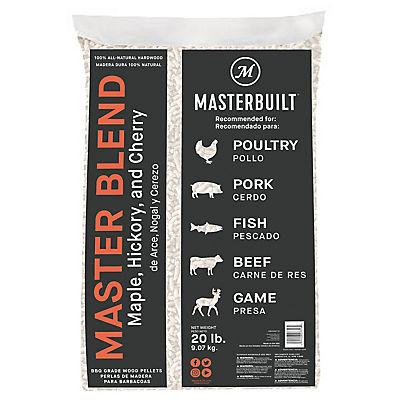 Masterbuilt Master Blend Wood Pellets, 20 lbs.