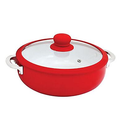 IMUSA Ceramic Caldero - Red