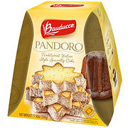 Bauducco Pandoro Full Pallet Display Traditional Italian Style Cake, 17.5 oz.