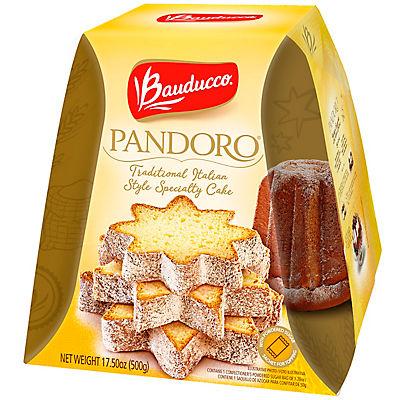 Bauducco Pandoro Full Pallet Display Traditional Italian Style Cake, 1