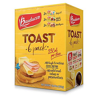 Bauducco Toast Variety Pack, 6 pk.