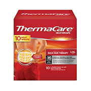 ThermaCare Lower Back and Hip Heatwraps, 10 ct.