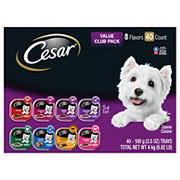 Cesar Classics Variety Dog Food Trays, 40 ct./3.5 oz.