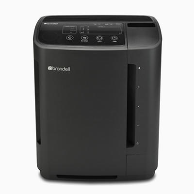 Brondell O2+ Revive Air Purifier and Humidifier- Black