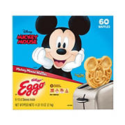 Eggo Mickey Mouse Waffles, 60 ct.