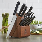 J.A Henckels International Solution 12-Pc. Knife Block Set