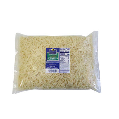 Great Lakes Cheese Shredded Mozzarella, 5 lbs.