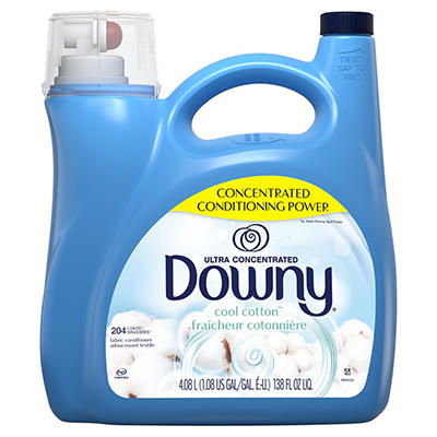 Ultra Downy Cool Cotton Concentrated Liquid Fabric Conditioner, 138 fl