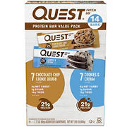Quest Protein Bar Variety Pack, 14 ct.
