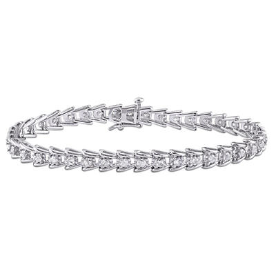 2.00 ct. t.w. Diamond Tennis Bracelet in Sterling Silver