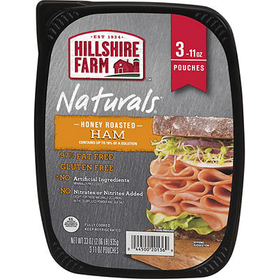 Hillshire Farm Naturals Lunchmeat, Honey Roasted Ham, 33 oz.