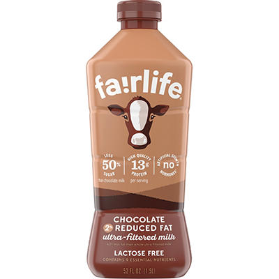 Fairlife Chocolate Flavored Reduced Fat Ultra Filtered Lactose Free Mi