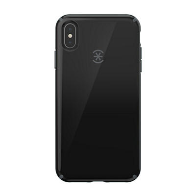 Speck CandyShell iPhone XS Max Phone Case - Black/Slate Grey