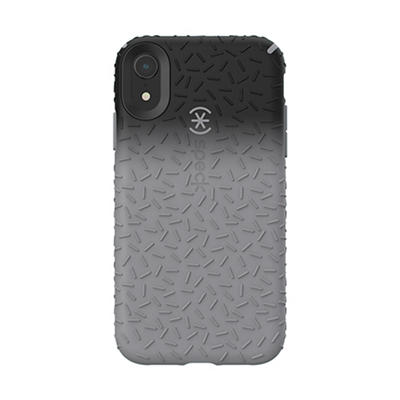 Speck CandyShell Fit iPhone XR Phone Case - Black Ombre Gunmetal/Gunme