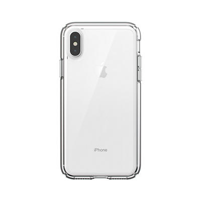 Speck CandyShell Grip iPhone XS, X Phone Case - White/Black