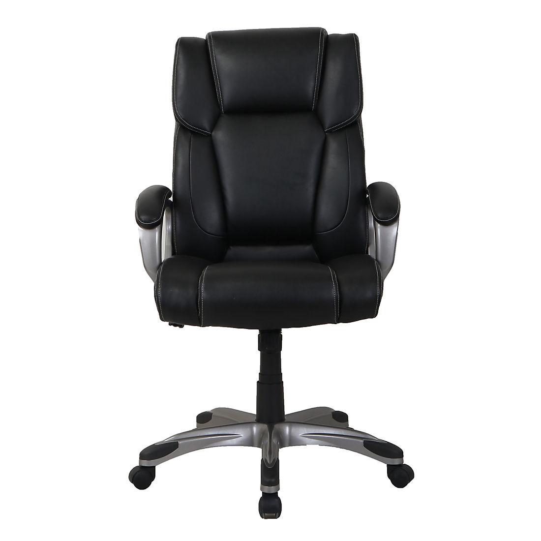 Outstanding Berkley Jensen Bonded Leather Manager Chair Black Cjindustries Chair Design For Home Cjindustriesco