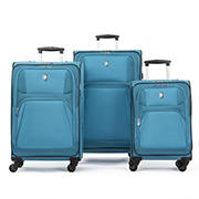 Atlantic 3-Pc. Expandable Spinner Set - Teal