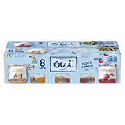 Oui by Yoplait Strawberry and Black Cherry French Style Yogurt, 8 pk./5 oz.
