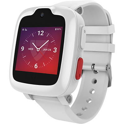 Freedom Guardian Alert System Smart Watch - White
