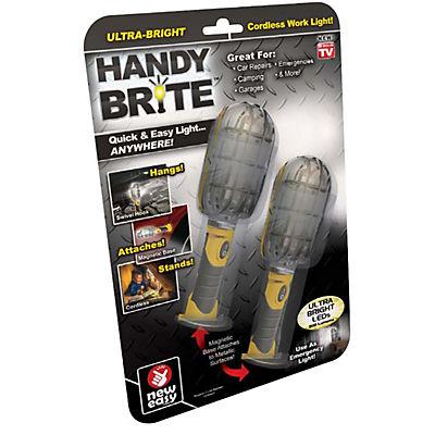 Handy Brite Ultra-Bright Cordless LED Work Light, 2 pk.