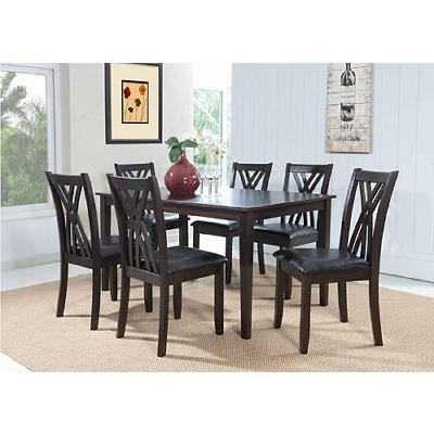 Powell Masten 7-Pc. Dining Set - Espresso