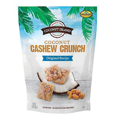 Coconut Island Coconut Cashew Crunch, 20 oz.