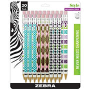 Zebra 0.7mm Style #2 Mechanical Pencils, 20 ct.