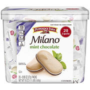 Pepperidge Farm Milano Mint Chocolate Cookies, 20 ct./0.95 oz.