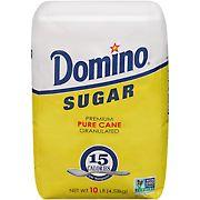 Domino Premium Pure Cane Granulated Sugar, 10 lbs.