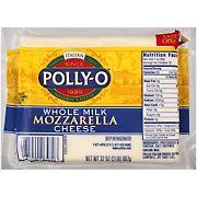 Polly-O Whole Milk Mozzarella Cheese, 32 oz
