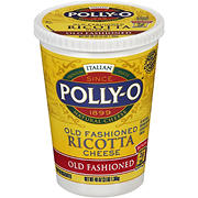 Polly-O Old Fashioned Whole Milk Ricotta Cheese, 48 oz.