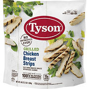 Tyson Grilled Chicken Strips, 3 lbs.